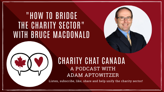 How to bridge the charity sector with Bruce MacDonald